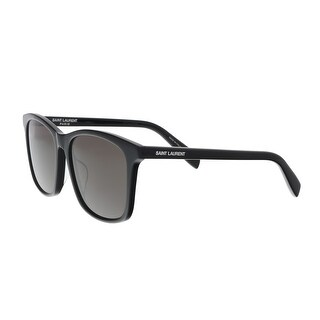 Saint Laurent SL 205/K 001 Black Cat Eye Sunglasses - 57-17-145