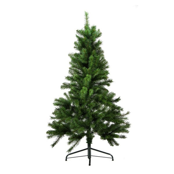 "4.5' x 35"" Medium Mixed Pine Artificial Christmas Tree - Unlit - green"