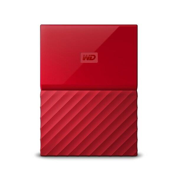 Western Wdbyft0040brd-Wesn 4Tb Red My Passport Portable External Hard Drive