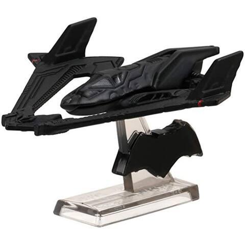 Hot Wheels Retro Entertainment Diecast Batwing Vehicle, Batman Vs. Superman
