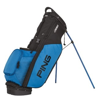 New Ping 2017 4-Series Golf Stand Bag (Black / Blue) - Black / Blue