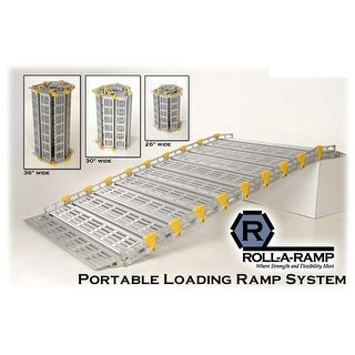 Roll-A-Ramp A12604A19 26 in. x 48 in. Portable Loading Ramp