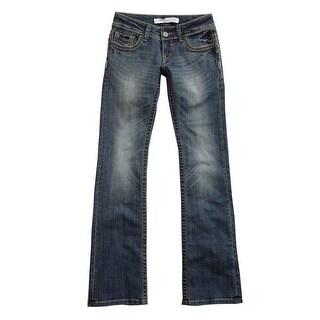 Tin Haul Western Pants Womens Bootcut Blue