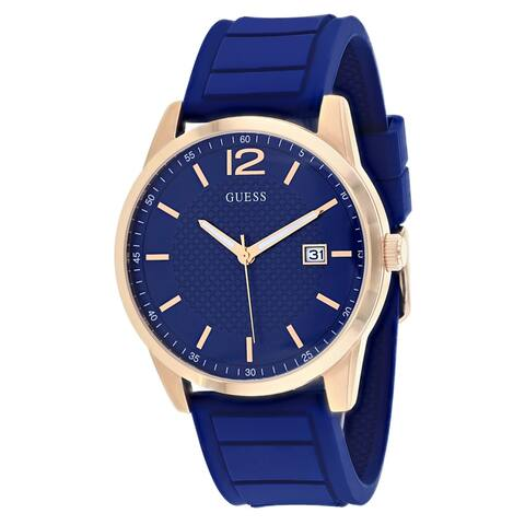 Guess Men's Perry W0991G4 Blue Dial Watch