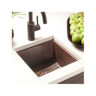 "Native Trails GR934 12-1/2"" Square Bottom Grid Sink Rack - For Use with Cantina Series"