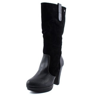 MTNG 56443 Round Toe Synthetic Mid Calf Boot