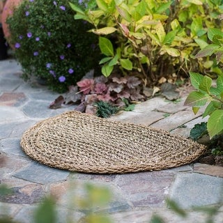 RusticReach Organic Natural Straw Door Mat