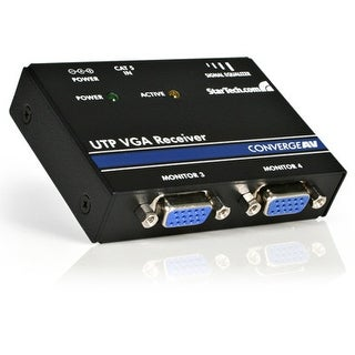 Startech.Com St121r Vga Video Extender Remote Receiver Over Cat 5