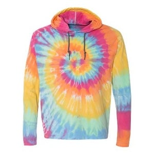 07a705bc538 Shop Tie-Dyed Hooded Pullover T-Shirt - Aerial Spiral - S - Free Shipping  On Orders Over  45 - Overstock - 16043566