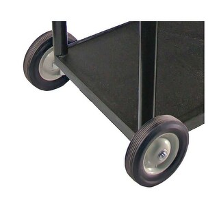 """OF-LPLBW - Offex Big Wheel Pack for 24"""" x 32"""" Cart - Black"""