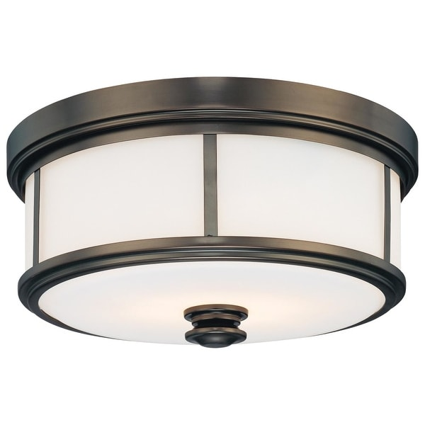Minka Lavery 4365 2 Light Flush Mount Ceiling Fixture from the Harvard Court Collection
