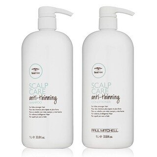 Paul Mitchell Tea Tree Anti-Thinning Shampoo & Conditioner 33.8 Oz Combo Pack