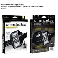 Water-Resistant Sports Armband w/ ID & Key Pockets For Smartphones