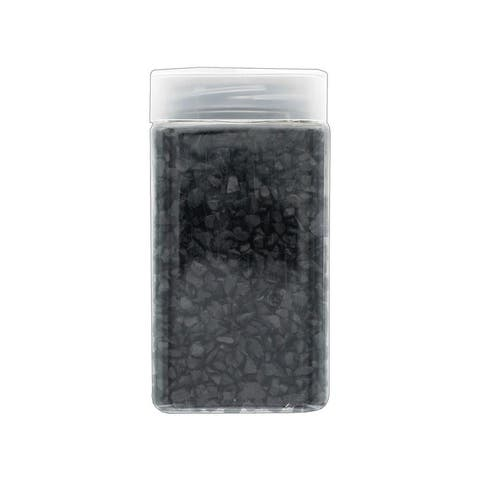 30014817 darice floral gems glass chips 17 5oz black