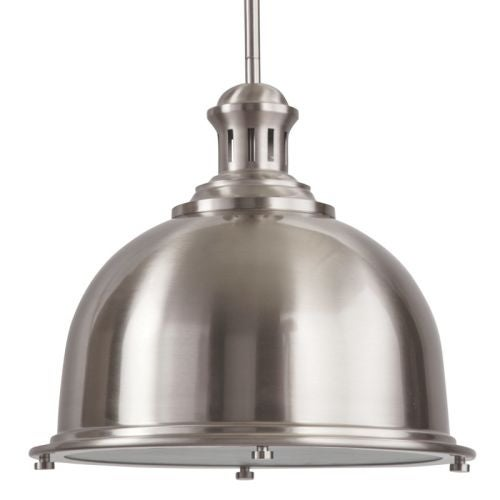 "Park Harbor PHPL5081 13"" Wide Single Light Single Pendant with Industrial Style Shade"