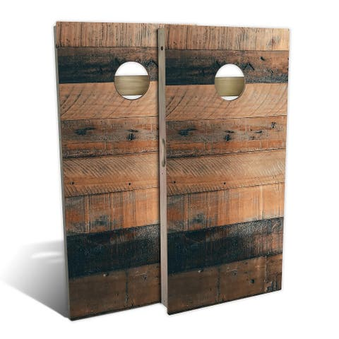 Country Living Reclaimed Pallet Cornhole Set - Choose Your Size