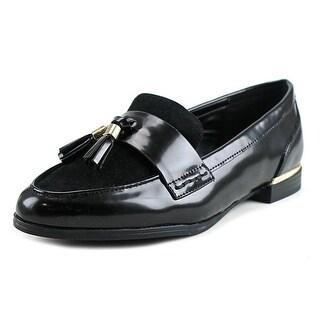 Aldo Ponzana Pointed Toe Patent Leather Loafer