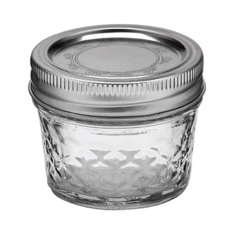 Ball 1440080400 Regular Mouth Jelly Jars, 4 Oz, Box of 12 jars