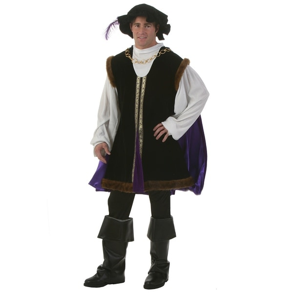 Plus Size Noble Renaissance Man Costume