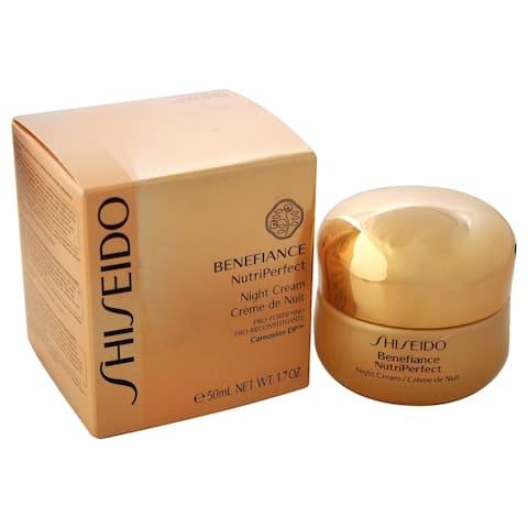 Benefiance Nutriperfect Night Cream By Shiseido For Unisex - 1 7 Oz Night Cream