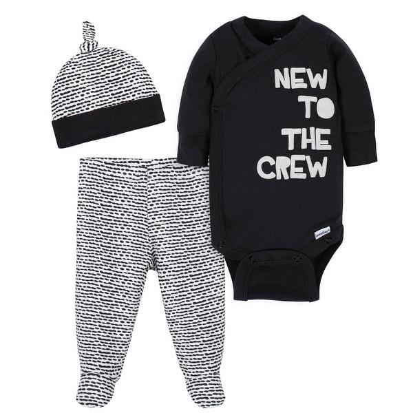 Pant and Cap Gerber Baby Girls 9-Piece Onesies Bodysuit