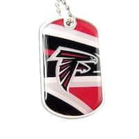 Atlanta Falcons Dynamic Dog Tag Necklace Charm Chain NFL