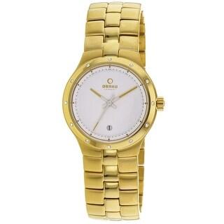 Obaku Women's Harmony V111LGWSG White Dial watch