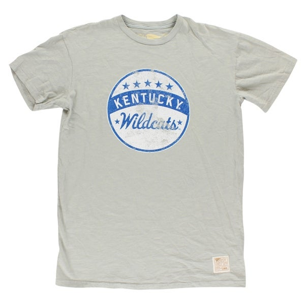 30aecfe2 Shop Distant Replays Mens Kentucky Wildcats College Slub Knit T Shirt Grey  - Grey/White/Blue - Free Shipping On Orders Over $45 - Overstock - 22614745