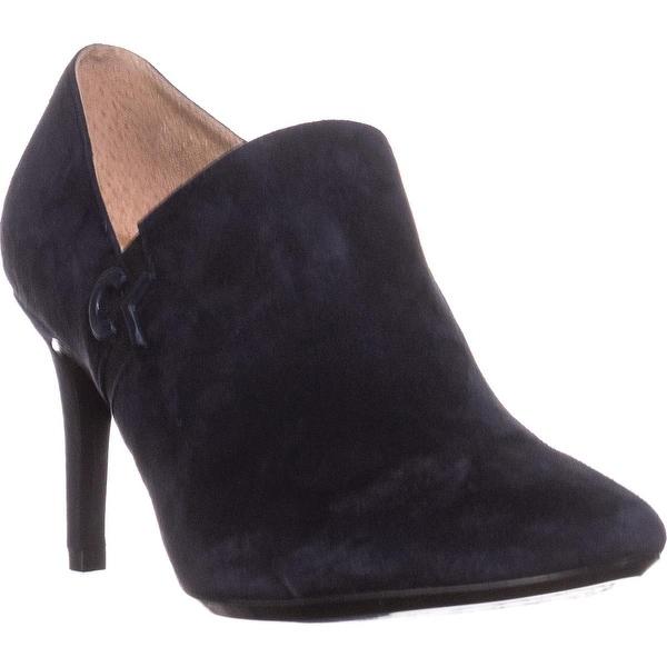 Calvin Klein Joanie Ankle Boots, Deep Navy/Black
