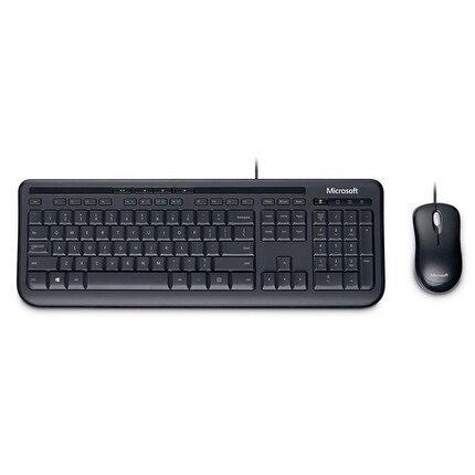 Microsoft 3J2-00001 Wired Desktop 600 for Business Mouse and Keyboard