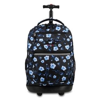 J World New York Sundance Rolling Backpack, Night Bloom