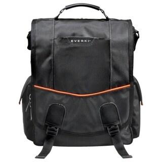 """""""Everki EKS620 Everki Urbanite EKS620 Carrying Case (Messenger) for 14.1"""" Notebook - Black - Nylon - Checkpoint Friendly -"""