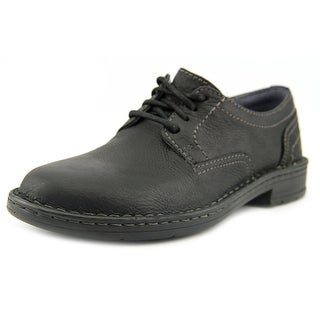 Clarks Kyros Plain Men Round Toe Leather Black Oxford