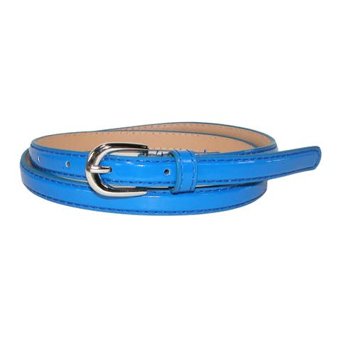 CTM® Women's Skinny Dress Belt