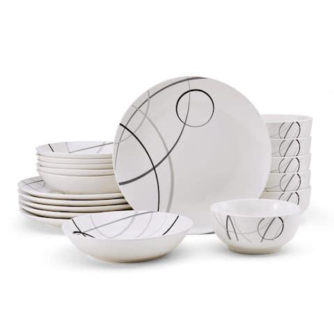 Studio Nova Circles 18PC Dinnerware Set