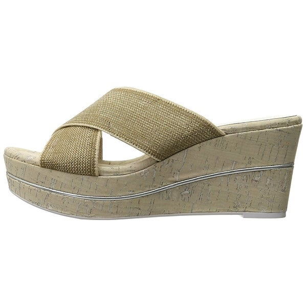 Donald J Pliner Womens Dani Peep Toe Casual Slide Sandals - 5
