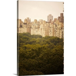 """Central Park, New York"" Canvas Wall Art"