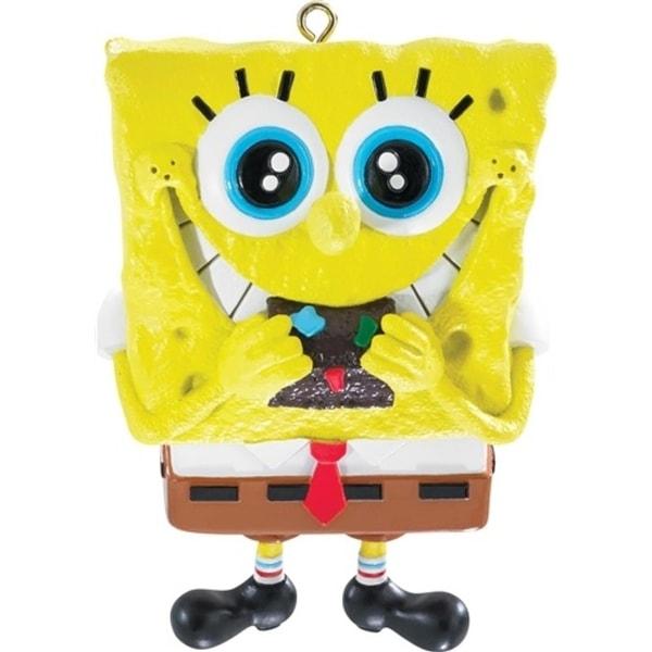 "3"" Carlton Cards Heirloom SpongeBob SquarePants Christmas Ornament"