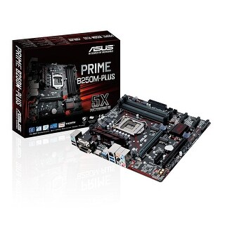 Asus Prime B250m-Plus Lga1151 Ddr4 Hdmi Dvi Vga M.2 Usb 3.1 B250 Matx Motherboard