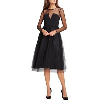 BCBGeneration Womens Semi-Formal Dress Mesh Tulle Skirt
