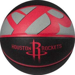 "Spalding NBA Courtside Houston Rockets Outdoor Rubber Basketball Size 7 (29.5"")"