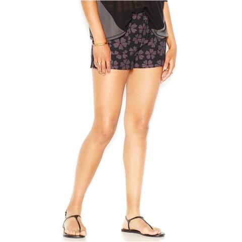 Rachel Roy Womens Printed Casual Walking Shorts