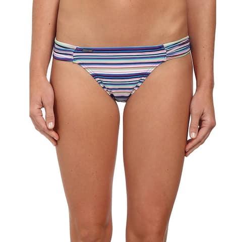 Lole Blue Women's Size XL Bikini Bottom Striped Swimwear