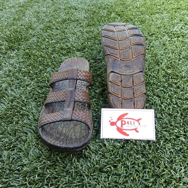 Pali Hawaii JAYA BROWN Sandals with Certificate of Authenticity