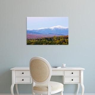 Easy Art Prints Jerry & Marcy Monkman's 'Dusk And Mount Washington' Premium Canvas Art