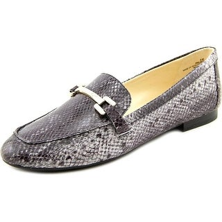Nine West Last Call Round Toe Synthetic Loafer