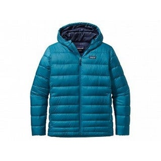 Patagonia Hi-Loft Hooded Down Jacket - Men's Underwater Blue, XL