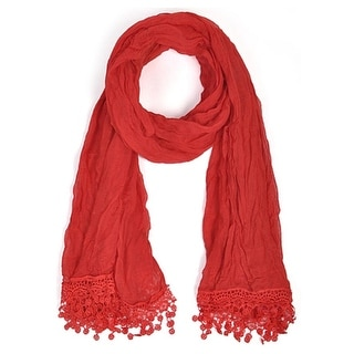 Link to Women's Fashion Red Viscose Scarf scarves LS4320 - Regular Similar Items in Scarves & Wraps