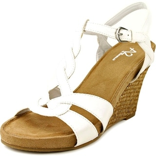 A2 By Aerosoles Stone Plush Open Toe Synthetic Wedge Sandal