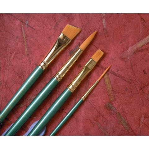 Princeton 4350r-3/0 good synthetic sable watercolor and acrylic brush round 3/0
